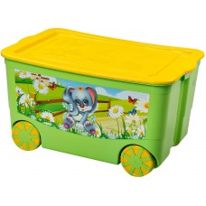 Ящик для игрушек KidsBox на колёсах