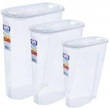 Набор контейнеров для сыпучих продуктов Лайт