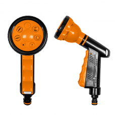 Пистолет для полива BLACK LINE 7 режимов пластмассовый QUICK STOP
