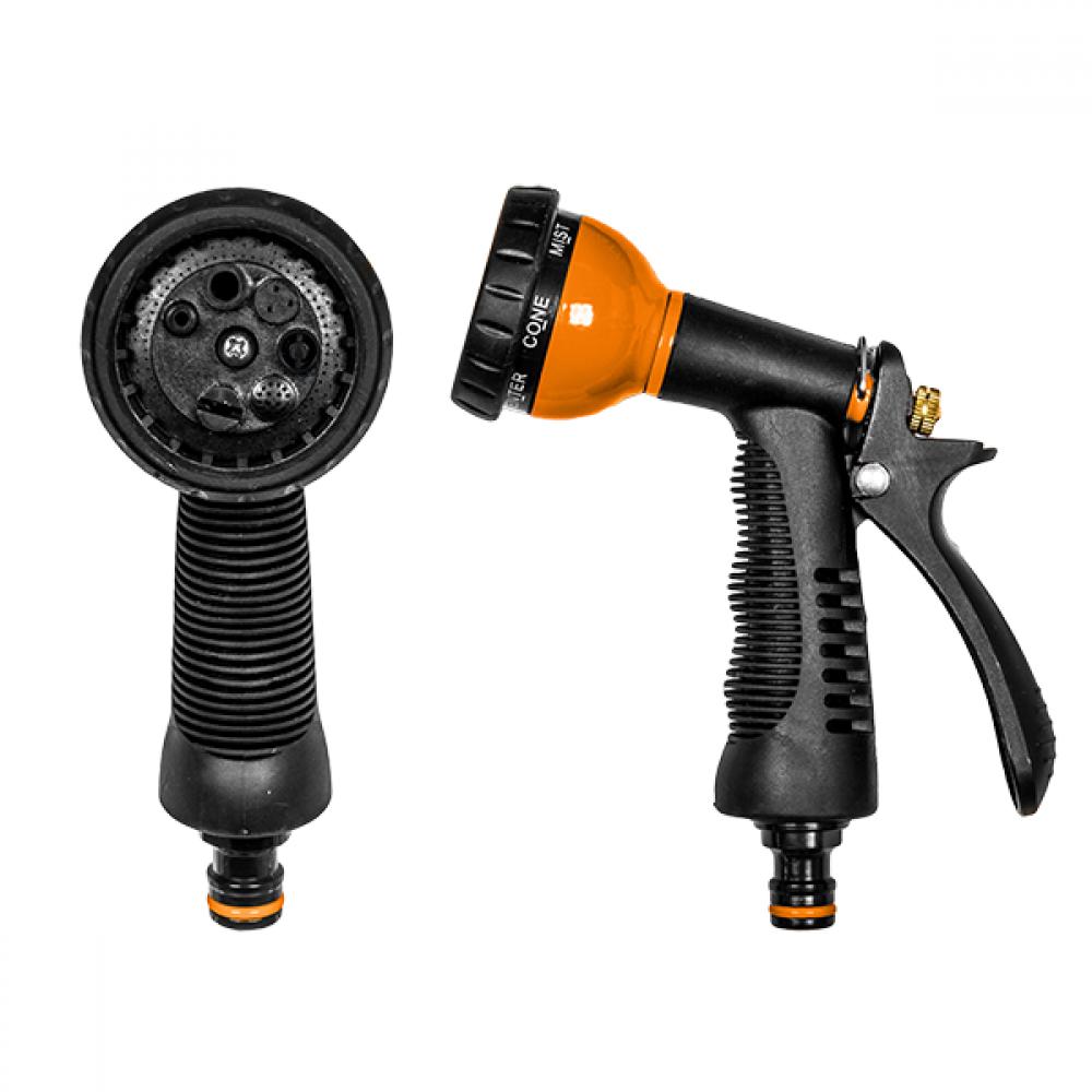 Пистолет для полива BLACK LINE 7 режимов металлический PROFI