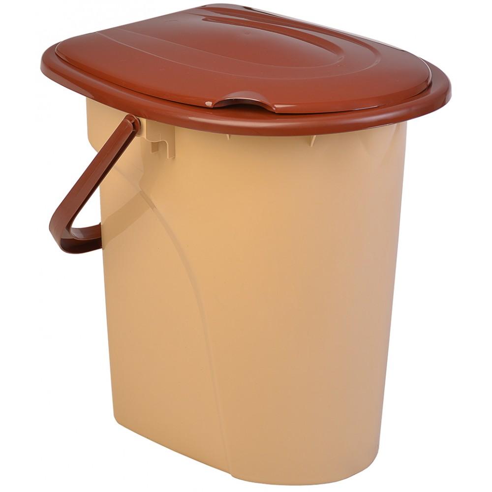 Ведро-туалет с крышкой 22 л
