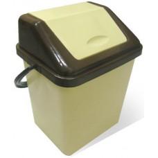 Ведро для мусора Альфа с крышкой 12 л