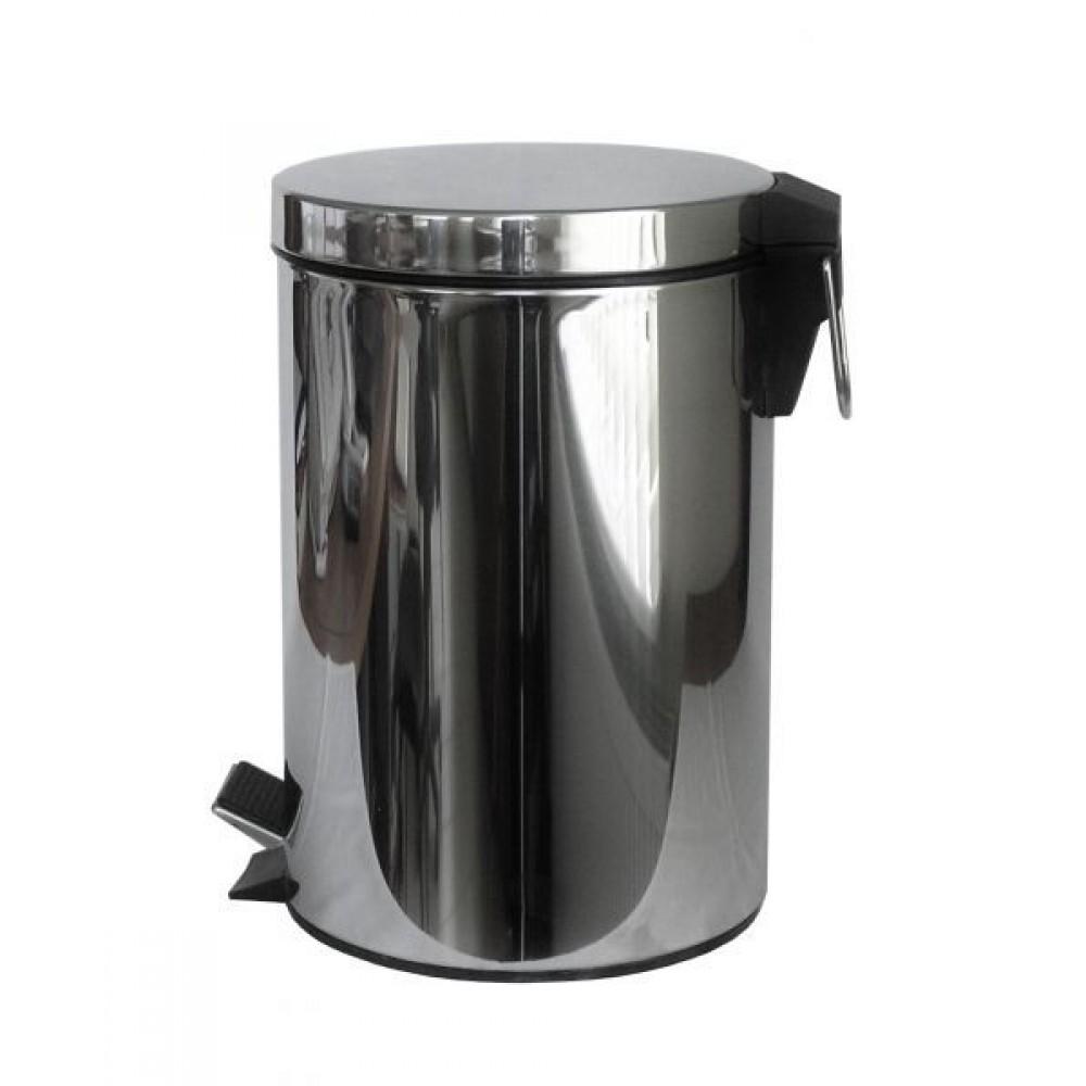 Ведро для мусора Feniks  7л (круглое глянец)