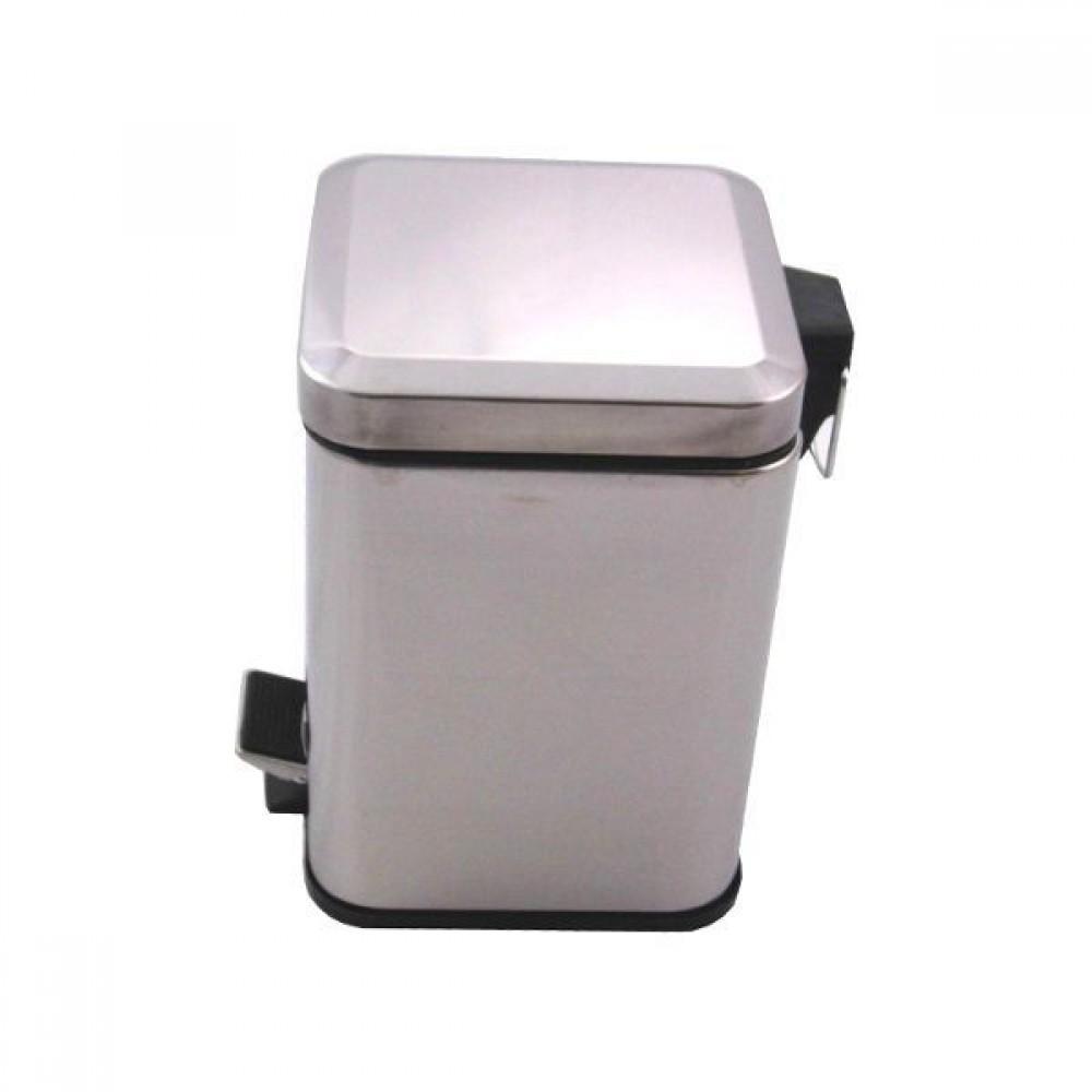 Ведро для мусора Feniks 5л (квадратное матовое)