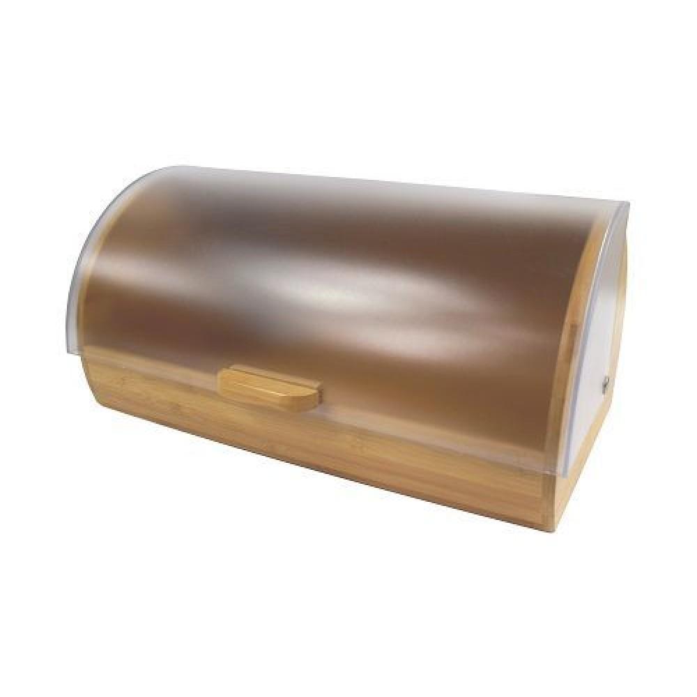 Хлебница деревянная с пластиковой крышкой Feniks CHD12