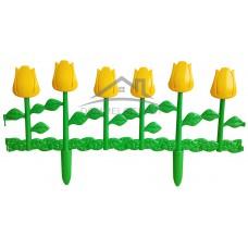 Ограждение Цветник №1 620х290 (6 шт)