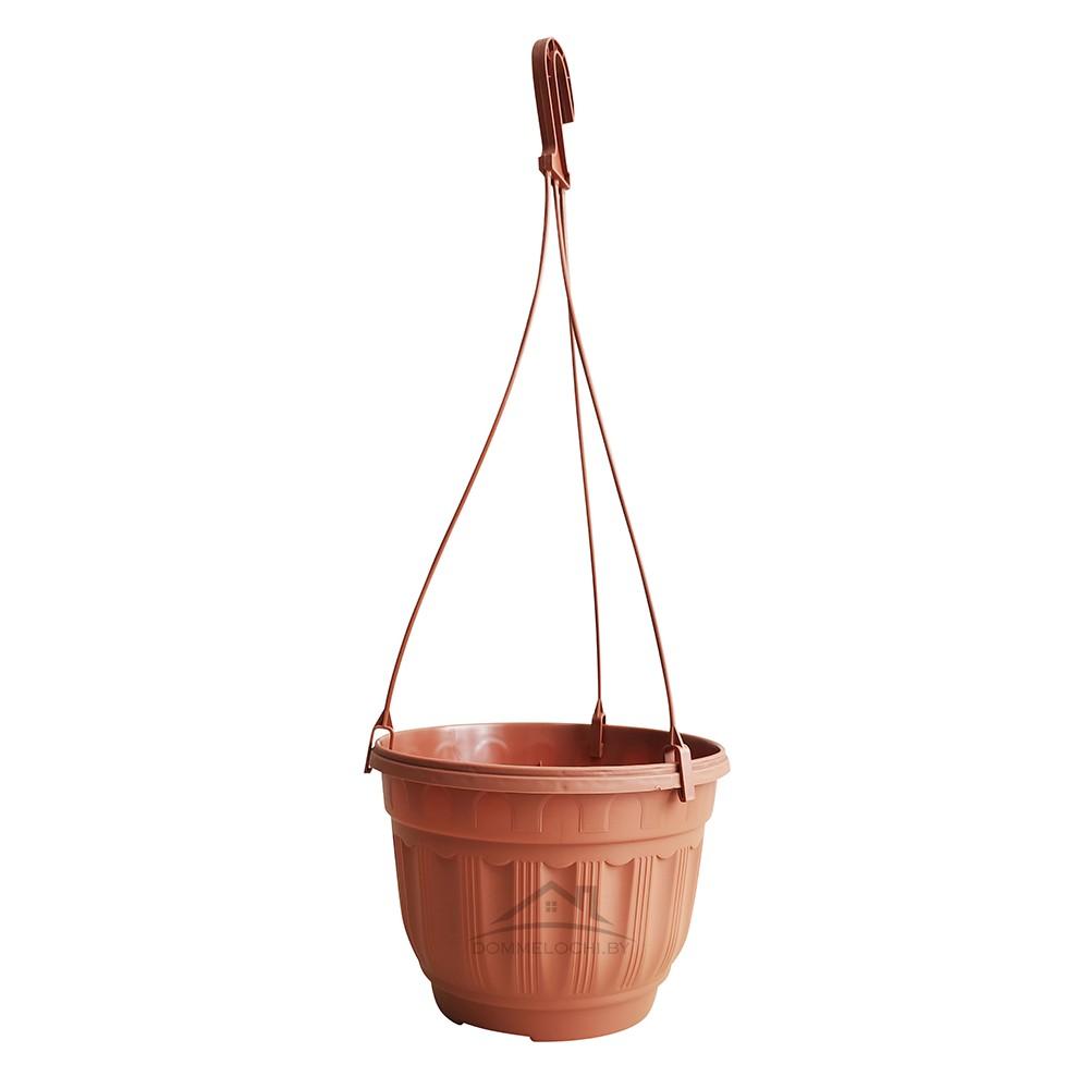 Горшок цветочный подвесной 3,75л