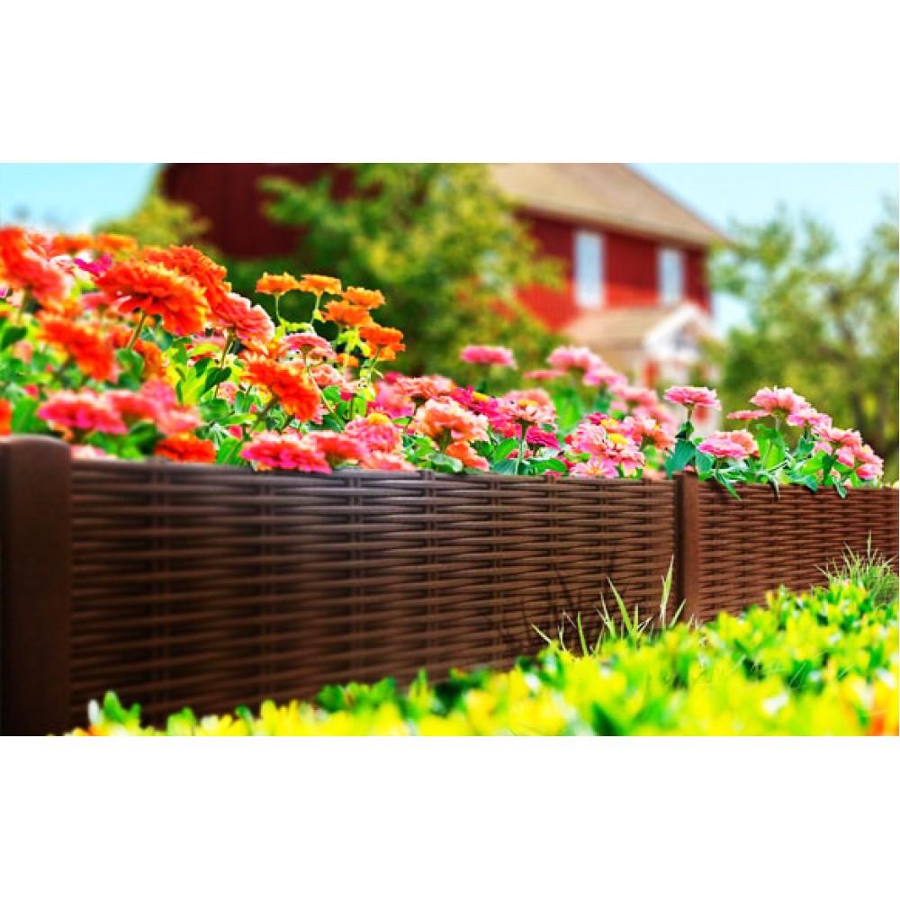 Декор сада и огорода: заборчики, газонные ленты, садовые фигуры